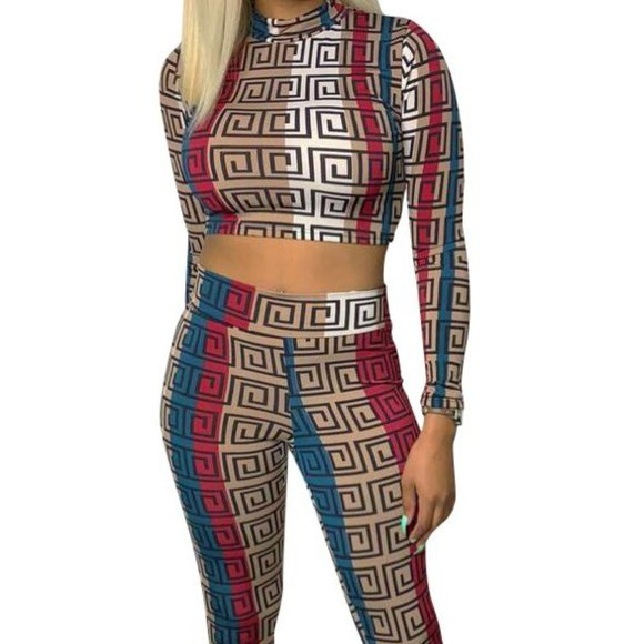 Other - Multi-Color Two-Piece Set